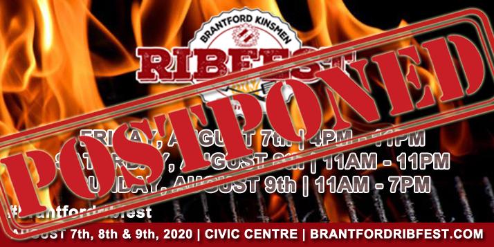 Brantford Ribfest — 2019 ENTERTAINMENT BOOKED