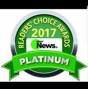 platinum award