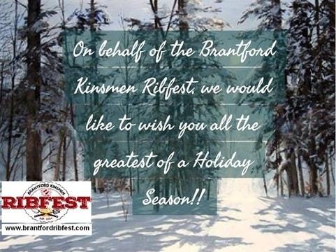 ribfest christmas card